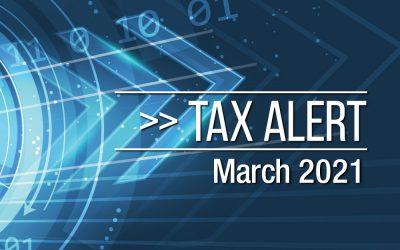 Tax Alert March 2021
