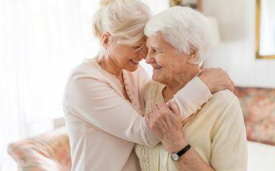 What happens when a parent needs to go into a nursing home?