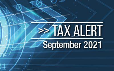 Tax Alert September 2021